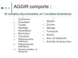 Autonomie d pendance encyclop die m dicale - Definition de la grille aggir ...